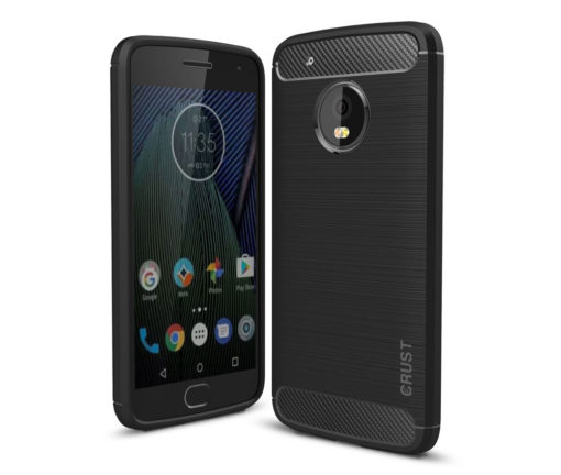 Crust CarbonX Motorola Moto G5 (5 Inches) Back Cover Case