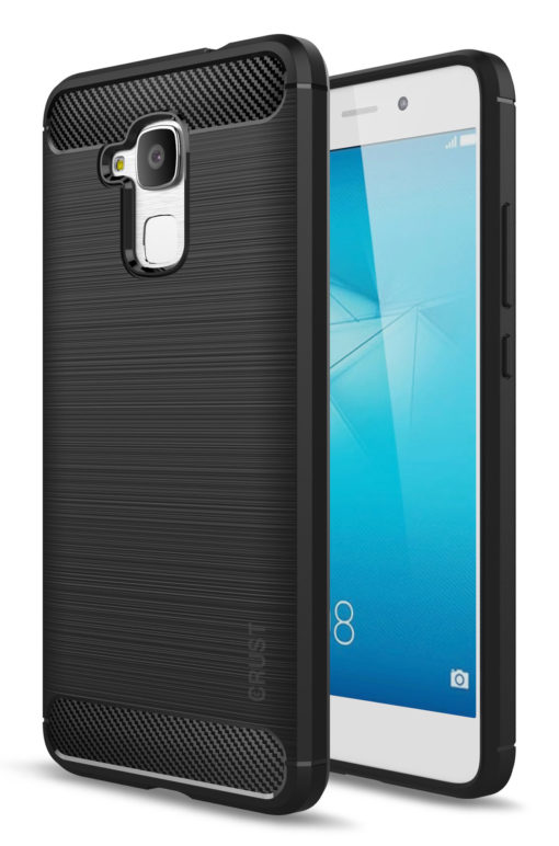 Crust CarbonX Huawei Honor 5C Back Cover Case - Black
