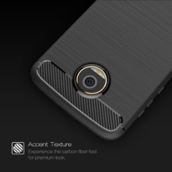 Crust CarbonX Motorola Moto Z Play Back Cover Case