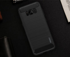 Crust CarbonX Samsung Galaxy S8 Plus / Galaxy S8 (6.2 Inch) Back Cover Case - Black