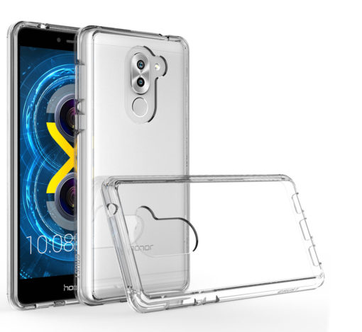 Crust Air Hybrid Huawei Honor 6X Back Cover Case - Crystal Clear