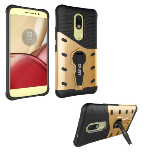 Crust Impact360 Motorola Moto M Back Cover Case