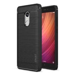 Crust CarbonX Xiaomi Redmi Note 4 [Indian Version] Back Cover Case