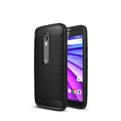 Crust CarbonX Motorola Moto G (3rd Gen), Moto G Turbo Edition Back Cover Case