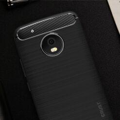 """Crust CarbonX Motorola Moto G5 Plus (5.2"""") Back Cover Case"""