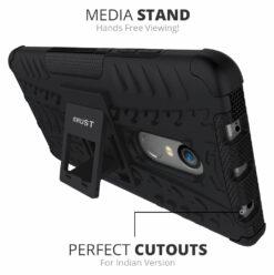Crust Impact Xiaomi Redmi Note 4 [Indian Version] Back Cover Case - Black