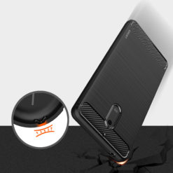 Crust CarbonX Nokia 6 Back Cover Case - Black