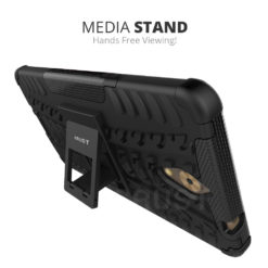 Crust Impact Coolpad Mega 2.5D Back Cover Case - Black