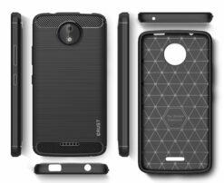 Crust CarbonX Motorola Moto C Plus Back Cover Case