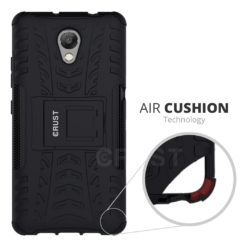 Crust Impact Lenovo P2 / Lenovo Vibe P2 Back Cover Case - Black