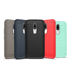 Crust CarbonX Motorola Moto M Back Cover Case