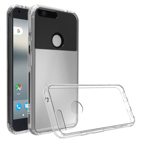 "Crust Air Hybrid For Google Pixel XL (5.5"") Back Cover Case - Crystal Clear"
