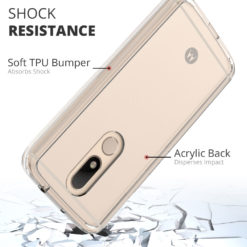 Crust Air Hybrid Motorola Moto M Back Cover Case