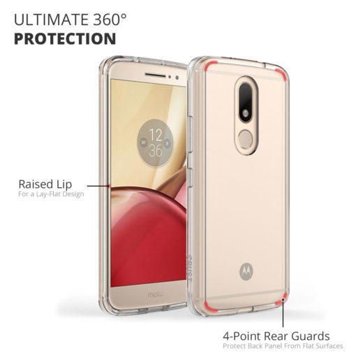 competitive price 11040 bab70 Crust Air Hybrid Motorola Moto M Back Cover Case