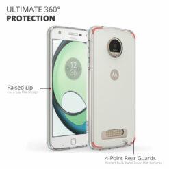 Crust Air Hybrid Motorola Moto Z Play Back Cover Case