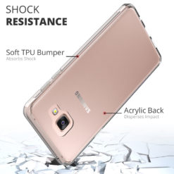 Crust Air Hybrid Galaxy A7 (2016) SM-A710 Back Cover Case
