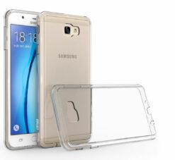 Crust Air Hybrid Samsung Galaxy On Nxt, Galaxy J7 Prime Back Cover Case - Crystal Clear
