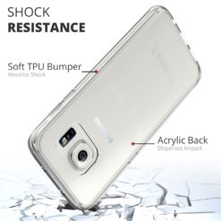 Crust Air Hybrid Samsung Galaxy S7 Edge SM-G935 Back Cover Case