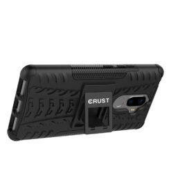 Crust Impact Lenovo K8 Note Back Cover Case - Black