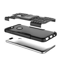 Crust Impact Xiaomi Mi A1 Back Cover Case - Black