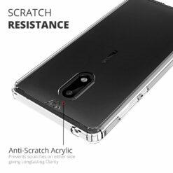 Crust Air Hybrid Nokia 6 Back Cover Case