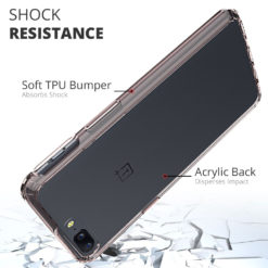 Crust Air Hybrid OnePlus 5 Back Cover Case