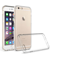 Crust Air Hybrid Apple iPhone 6S Plus (5.5 Inch) / iPhone 6 Plus Back Cover Case - Crystal Clear