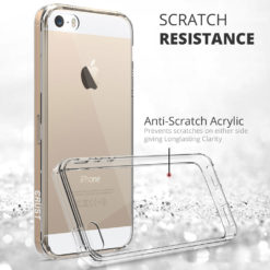 Crust Air Hybrid Apple iPhone SE / iPhone 5S / iPhone 5 Back Cover Case