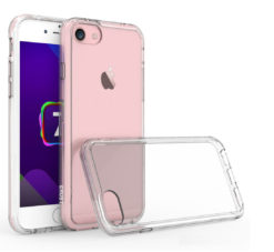 Crust Air Hybrid Apple iPhone 8 / iPhone 7 (4.7 Inch) Back Cover Case - Crystal Clear