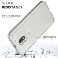 Crust Air Hybrid Motorola Moto E3 Power / Moto E (3rd Gen) Back Cover Case