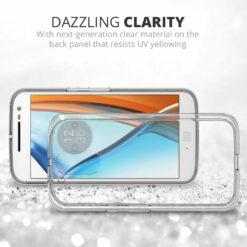 Crust Air Hybrid Motorola Moto G4 / Moto G4 Plus / Moto G Plus (4th Gen) Back Cover Case