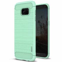 Crust CarbonX Samsung Galaxy S7 Edge SM-G935 Plus Case - Mint
