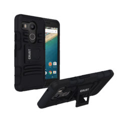 Crust Armor Google Nexus 5X / LG Nexus 5X Back Cover Case - Black