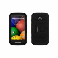 Crust Armor Motorola Moto E (1st Gen) / Moto E1 Back Cover Case - Black