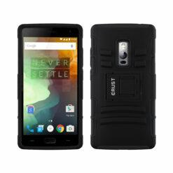 Crust Armor OnePlus 2 / One Plus 2 Back Cover Case - Black