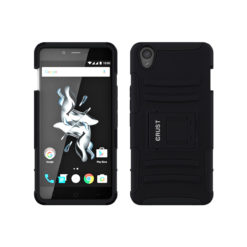 Crust Armor OnePlus X / One Plus X Back Cover Case - Black