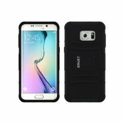 Crust Armor Samsung Galaxy S6 Edge Plus SM-G928 Back Cover Case - Black
