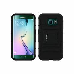 Crust Armor Samsung Galaxy S7 Edge SM-G935 Back Cover Case - Black