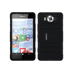 Crust Armor Microsoft Lumia 950 Back Cover Case - Black