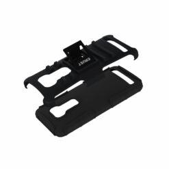 Crust Armor Asus ZenFone 2 Laser ZE550KL (5.5 Inch) Back Cover Case - Black