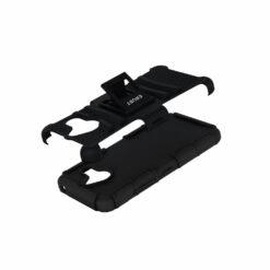 Crust Armor Microsoft Lumia 640 XL (5.7 Inch) / Lumia 640XL Back Cover Case - Black