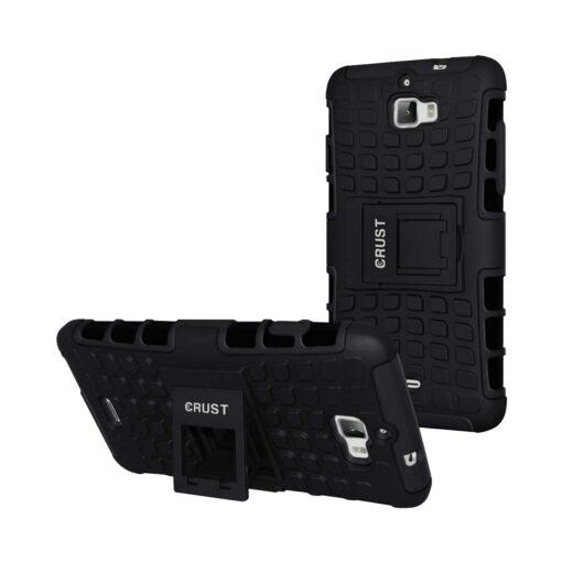 Crust Impact Coolpad Dazen 1 / Micromax Canvas Nitro A311 / Canvas Nitro A310 Back Cover Case - Black