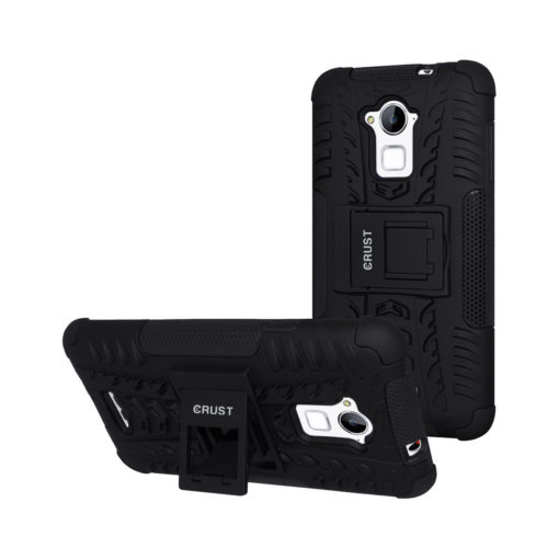 Crust Impact Coolpad Note 3 / Coolpad Note 3 Plus Back Cover Case - Black