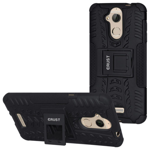 Crust Impact Coolpad Note 5 Back Cover Case - Black