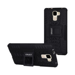 Crust Impact Huawei Honor 7 Back Cover Case - Black