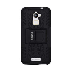 Crust Impact Coolpad Note 3 Lite (5 Inch) Back Cover Case - Black