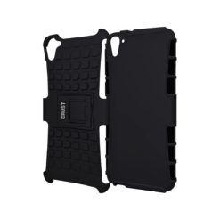 Crust Impact HTC Desire 826 Dual SIM Back Cover Case - Black