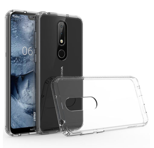 rivenditore all'ingrosso f5eb2 ff158 Crust Air Hybrid Nokia 6.1 Plus Back Cover Case