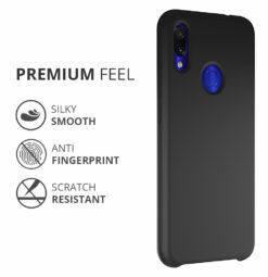Crust Liquid Silicone Xiaomi Mi Redmi Note 7 Pro / Redmi Note 7 / Redmi Note 7S Back Cover Case